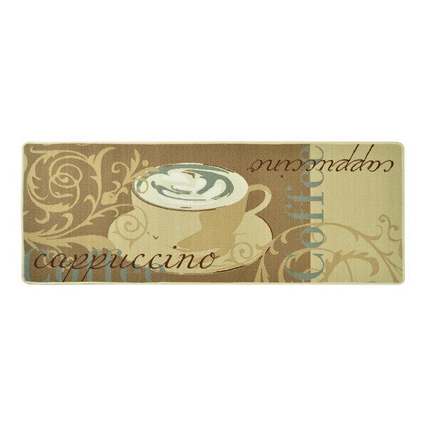 Wasbare keukenloper - Kitchen Cappuccino Beige Creme