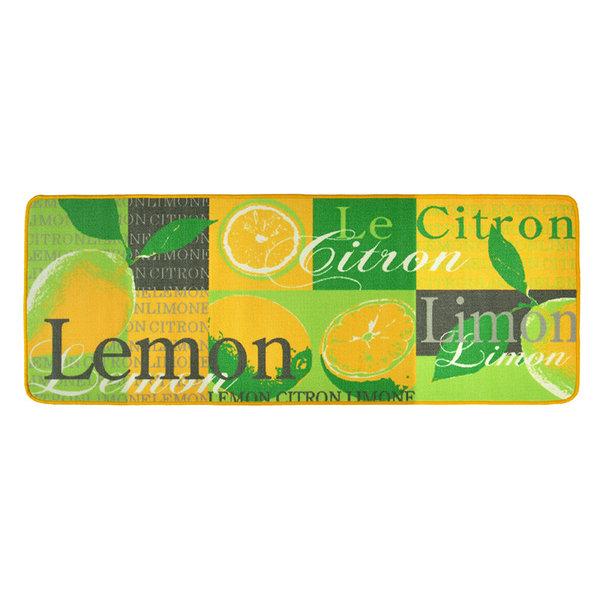 Keukenloper - Kitchen Lemon Geel Groen