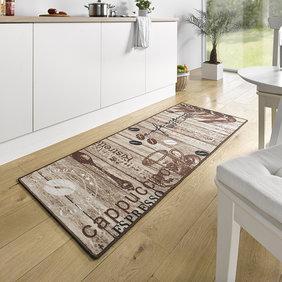 Hanse Home Wasbare keukenloper - Kitchen Cappuccino Bruin