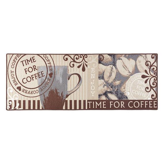 Hanse Home Keukenloper - Kitchen Coffee Time Bruin