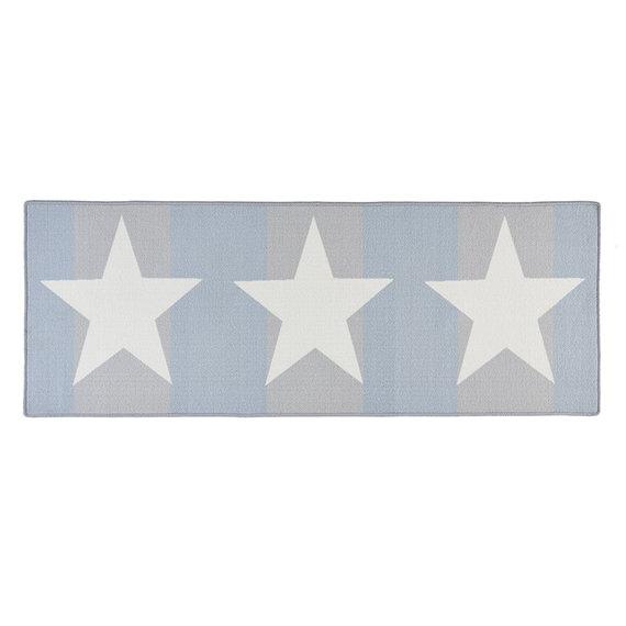 Hanse Home Keukenloper - Kitchen Stars Wit Blauw