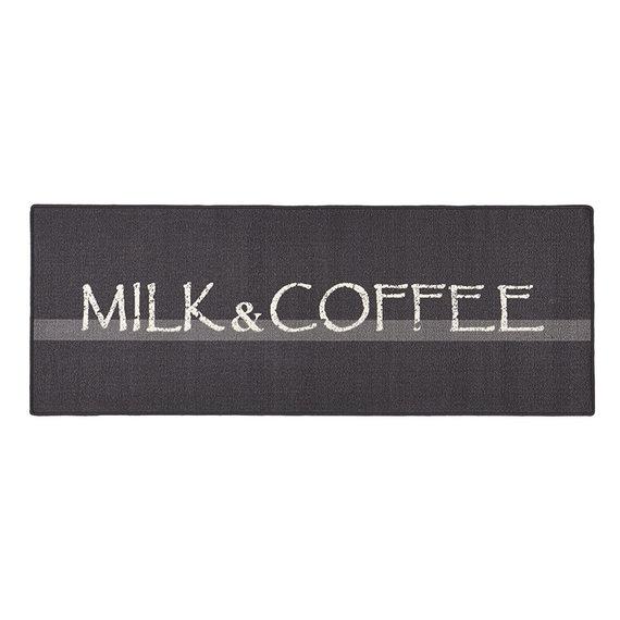 Hanse Home Keukenloper - Kitchen Milk & Coffee Grijs Wit