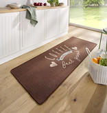 Hanse Home Wasbare keukenloper - Kitchen Coffee Bruin