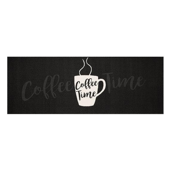 Zala living Keukenloper - Vibe Coffee Time Zwart