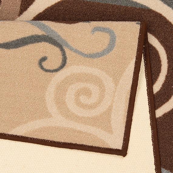 Zala living Keukenloper - Vibe Coffee Ornament Bruin
