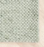 FRAAI Wollen vloerkleed - Melange Mint