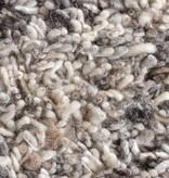 FRAAI Hoogpolig Wollen vloerkleed - Royal Licht Grijs Gemeleerd