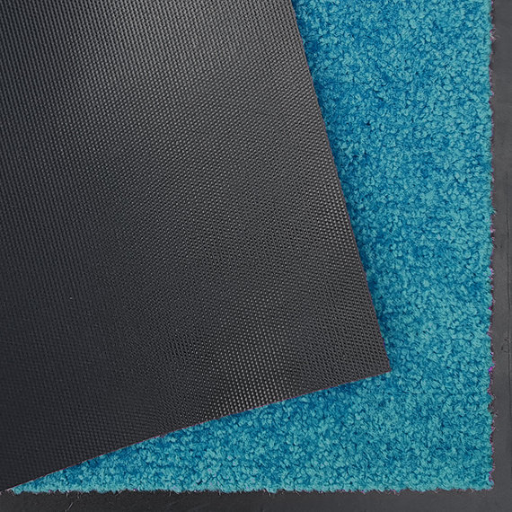 Hanse Home Wasbare deurmat - Wash and Clean Turquoise