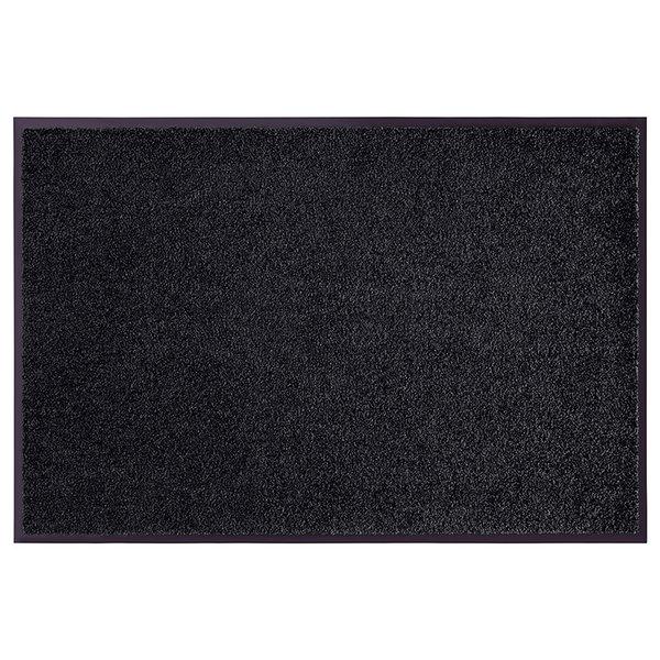 Wasbare deurmat - Wash and Clean Zwart