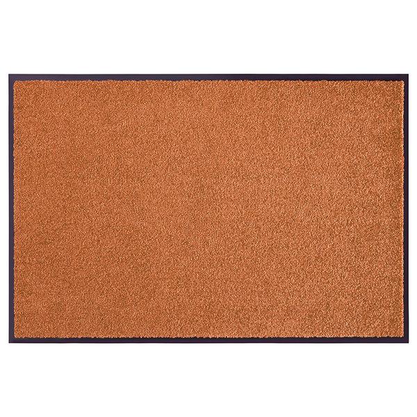 Wasbare deurmat - Wash and Clean Oranje