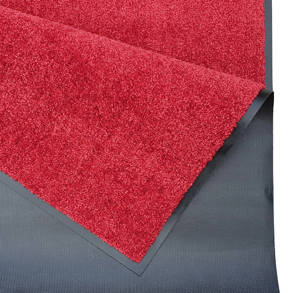Hanse Home Wasbare deurmat - Wash and Clean Rood