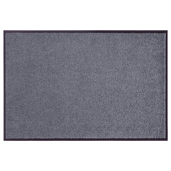 Wasbare deurmat - Wash and Clean Grijs