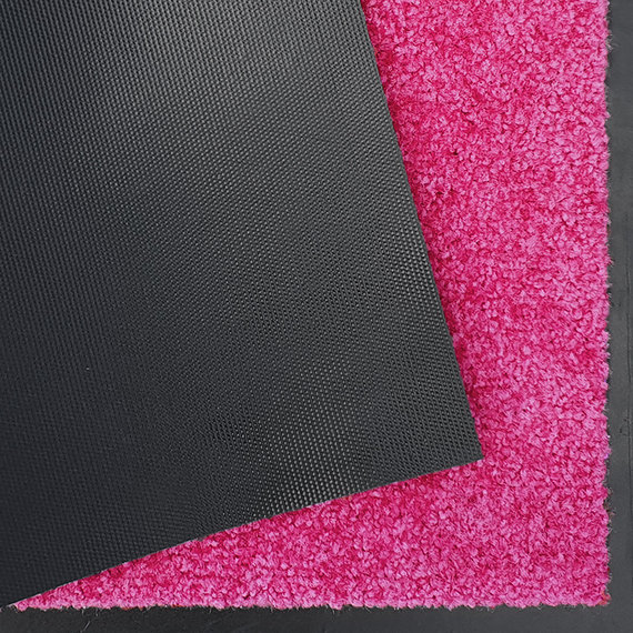 Hanse Home Wasbare deurmat - Wash and Clean Roze
