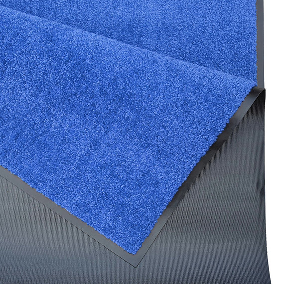 Hanse Home Wasbare deurmat - Wash and Clean Blauw