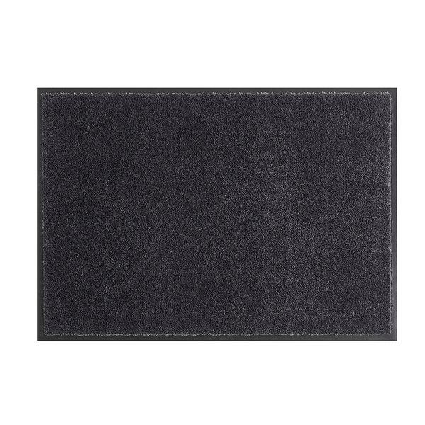 Wasbare deurmat - Soft & Clean Zwart