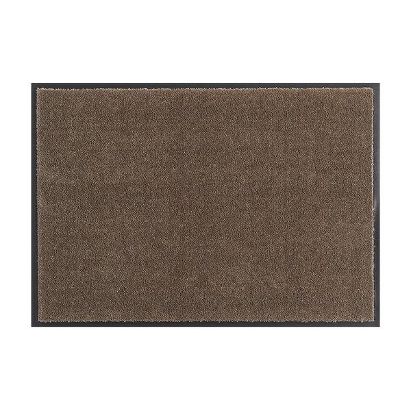 Wasbare deurmat - Soft & Clean Bruin