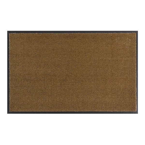 Wasbare deurmat - Soft & Clean Caramel Bruin
