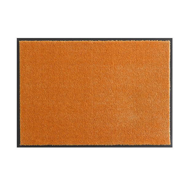 Wasbare deurmat - Soft & Clean Oranje