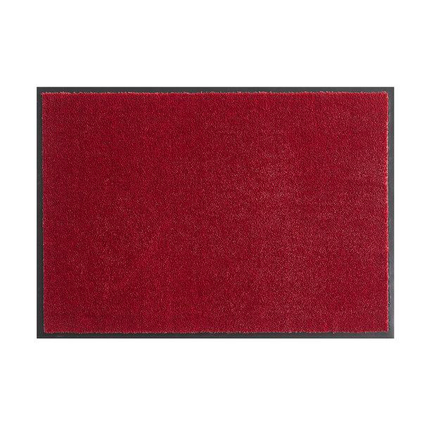 Wasbare deurmat - Soft & Clean Rood