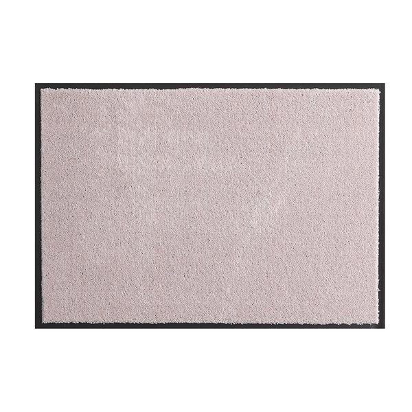 Wasbare deurmat - Soft & Clean Roze