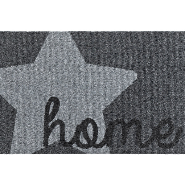 Design deurmat - Deko Ster Grijs