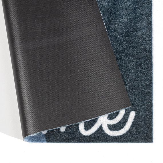 Zala living Design deurmat - Deko Ster Blauw