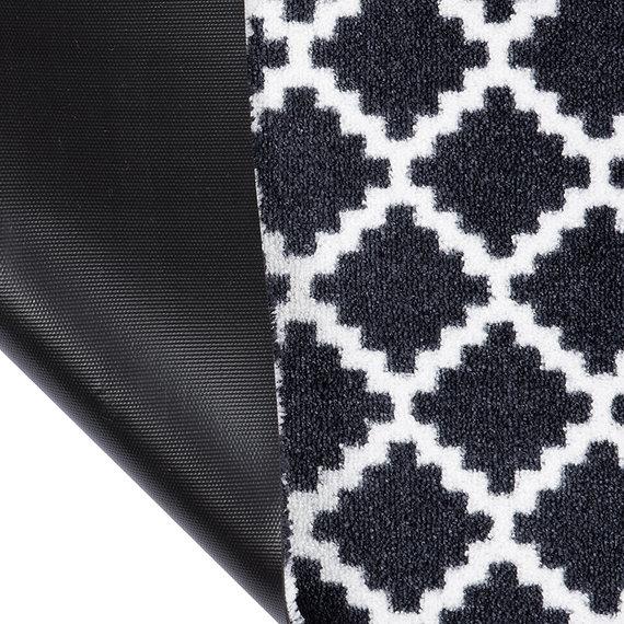 Zala living Deurmat - Home Elegance Zwart Wit