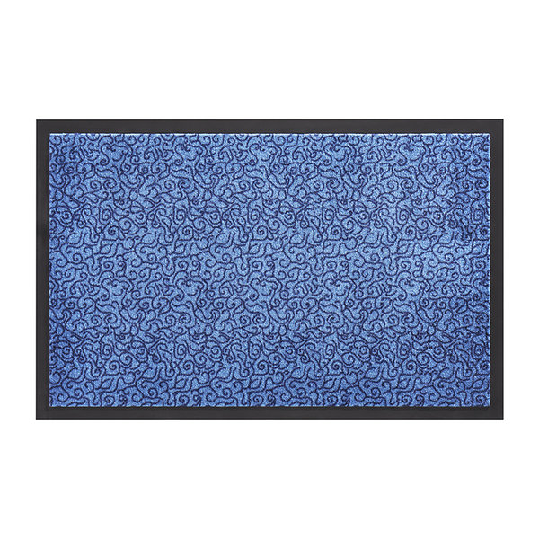 Wasbare deurmat - Smart Blauw