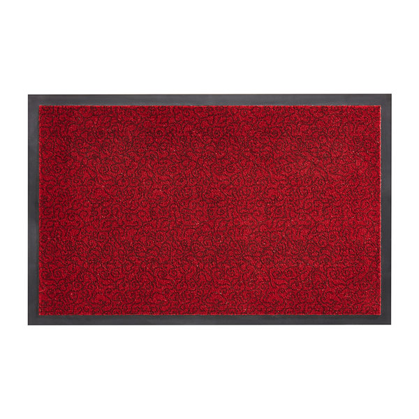 Wasbare deurmat - Smart Rood