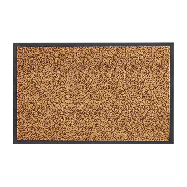 Wasbare deurmat - Smart Okergeel