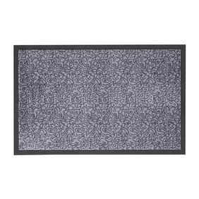 Zala living Wasbare deurmat - Smart Grijs