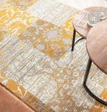 FRAAI Patchwork vloerkleed - Famous Oker Geel