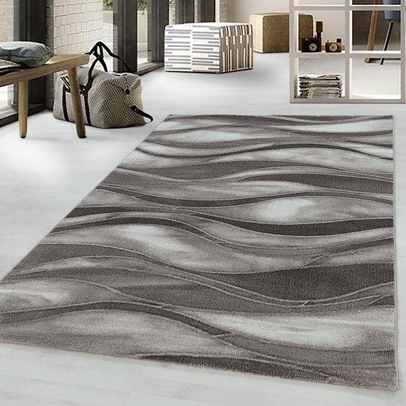 Adana Carpets Modern vloerkleed - Streaky Current Bruin Beige