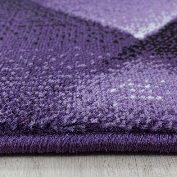 Adana Carpets Modern vloerkleed - Streaky Design Paars