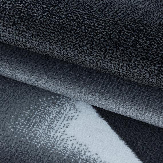 Adana Carpets Modern vloerkleed - Streaky Design Zwart