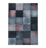Adana Carpets Modern vloerkleed - Streaky Box Grijs Roze
