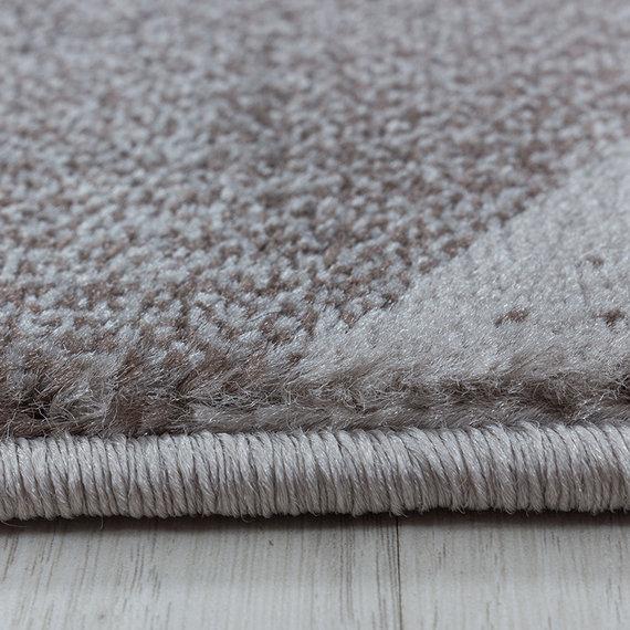 Adana Carpets Modern vloerkleed - Streaky Waves Bruin Beige