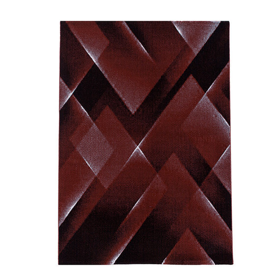Adana Carpets Modern vloerkleed - Streaky Lines Rood