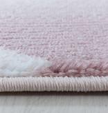 Adana Carpets Modern vloerkleed - Streaky Lines Roze