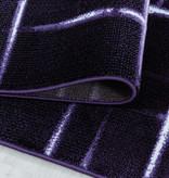 Adana Carpets Modern vloerkleed - Streaky Skretch Paars Wit