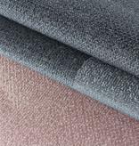 Adana Carpets Retro vloerkleed - Stencil Rectangles Roze Grijs