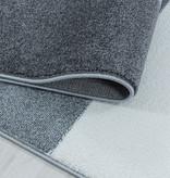 Adana Carpets Retro vloerkleed - Stencil Forms Paars Grijs