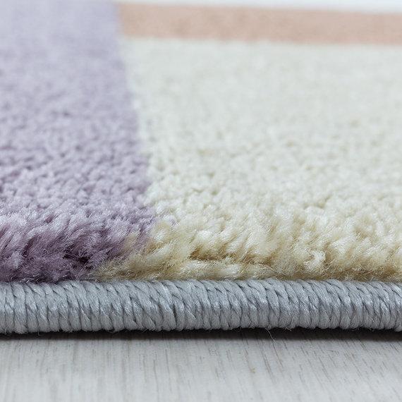 Adana Carpets Kindervloerkleed - Fleurtje Blokjes Multicolor