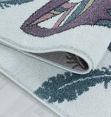 Adana Carpets Kindervloerkleed - Fleurtje Beer Geel