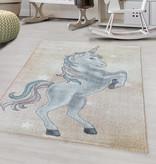 Adana Carpets Kindervloerkleed - Fleurtje Eenhoorn Geel