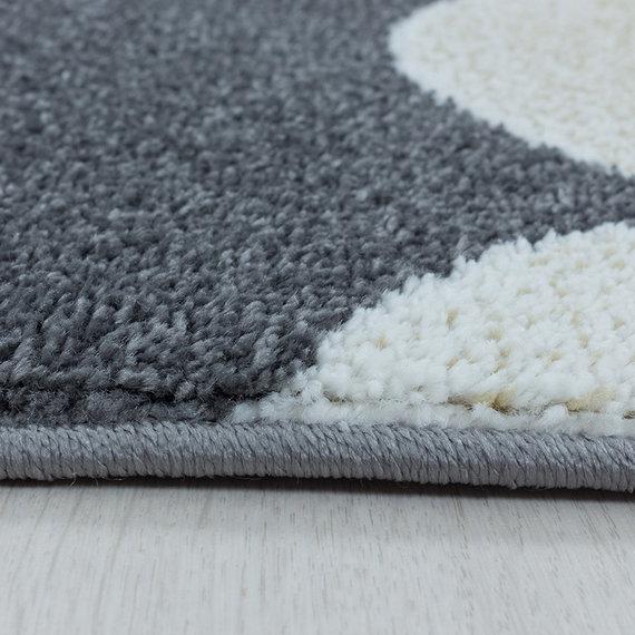 Adana Carpets Kindervloerkleed - Fleurtje Maan Geel