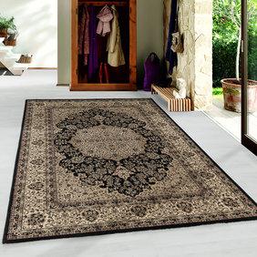 Adana Carpets Perzisch vloerkleed - Kashmir Zwart 2608