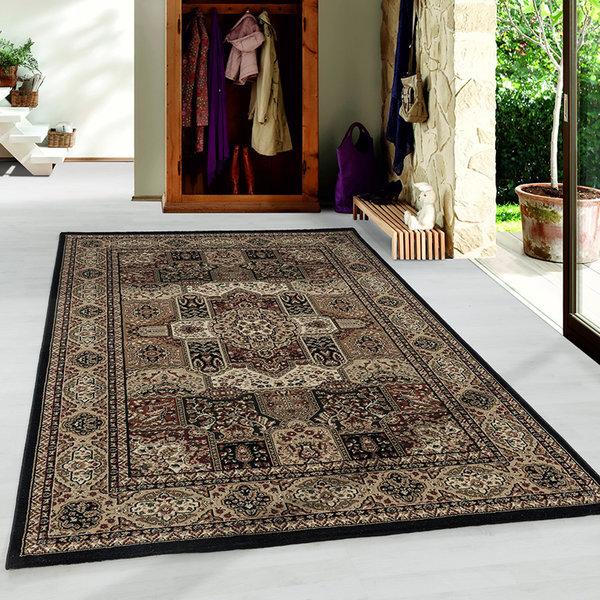 Perzisch vloerkleed - Kashmir Zwart 2603