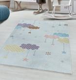 Adana Carpets Kindervloerkleed - Lucy Wolken Wit