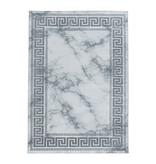 Adana Carpets Modern vloerkleed - Marble Edge Grijs Zilver